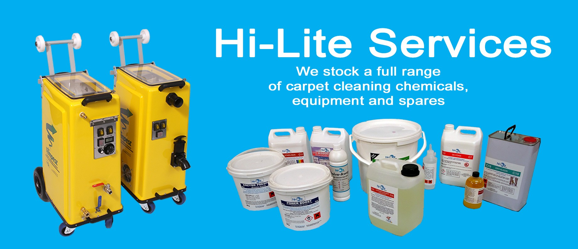 Hi-lite Services header